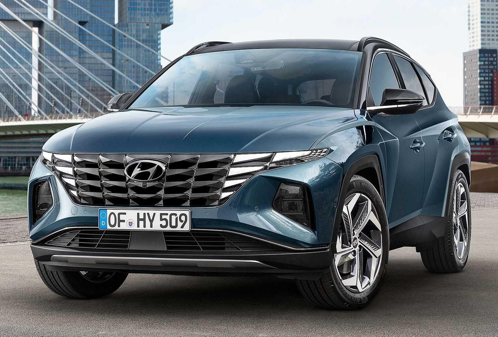 ra mắt Hyundai Tucson 2021